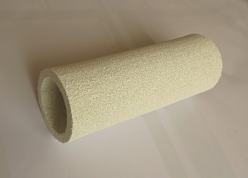 cylindrical ceramic foam burner