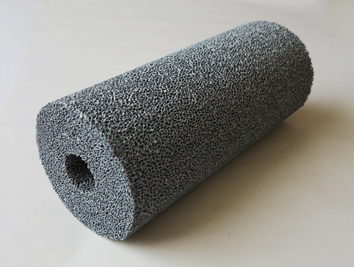 cylindrical ceramic foam