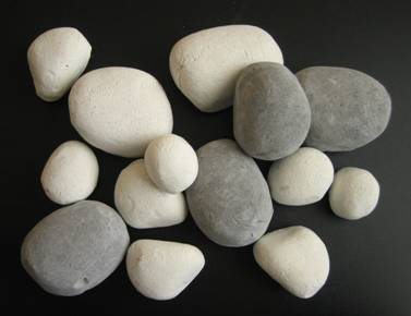 ceramic pebbles