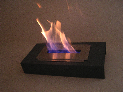 tinka table fireplace