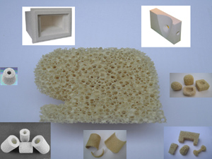 ceramic foam special shapes